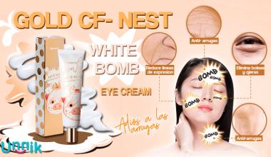 GOLD CF-NEST WHITE BOMB  EYE CREAM (Elizavecca)