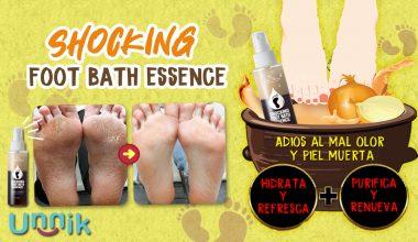 SHOCKING FOOT BATH ESSENCE (Label Young)
