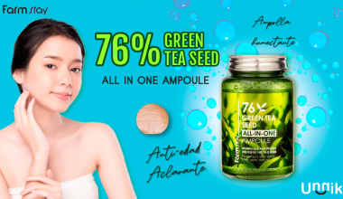 FARM STAY – 76 GREEN TEA SEED ALL IN ONE AMPOULE