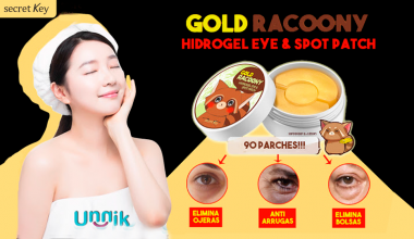 SECRET KEY – GOLD RACOONY HIDRO GEL EYE PATCH & SPOT PATCH