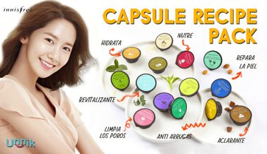 INNISFREE – CAPSULE RECIPE PACK